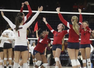 Wildcats claim five-set thriller over Sun Devils