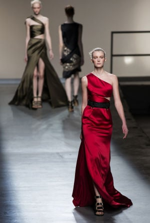 Photos: Saturday's shows from NY Fashion Week