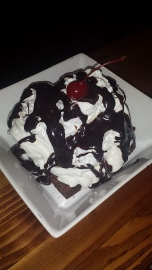 Crave: brownie sundae