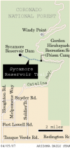 Sycamore Reservoir Trail: Reservoir trail has liquidity