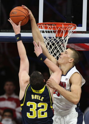 Hansen: Bigger and stronger UA shoves Michigan aside