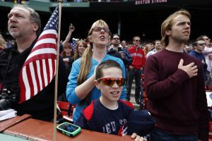 America's favorite pastime brings normalcy to Boston
