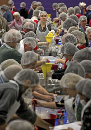 Tucson church tackles hunger with 50,000-meal pack-a-thon
