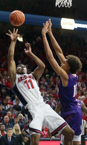 Arizona Wildcats beat Northwestern State 61-42
