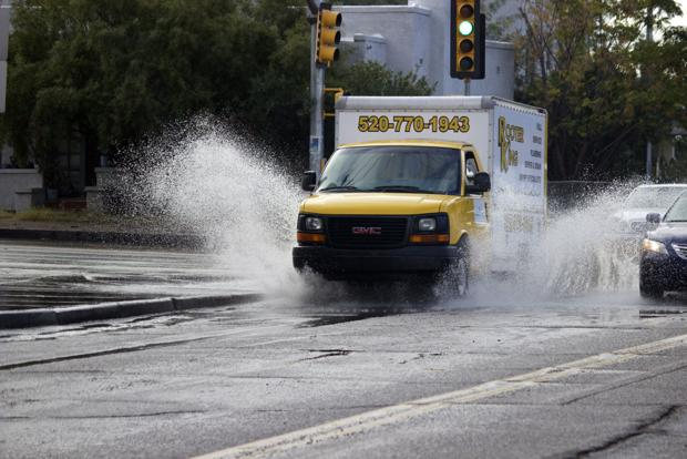 Photos: Tucson's wacky Wednesday weather