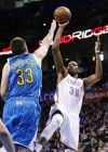NBA Durant's triple-double leads Thunder to win