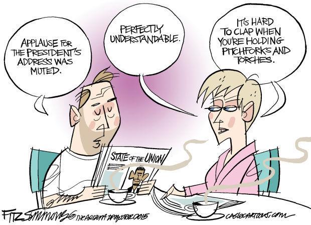 Daily Fitz Cartoon: Union