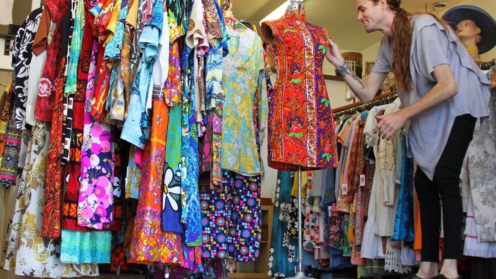 tucson vintage boutique hosting pop up of retro hawaiian