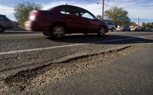 We're No. 1 — in potholes