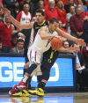No. 2 Arizona 67, Oregon 65
