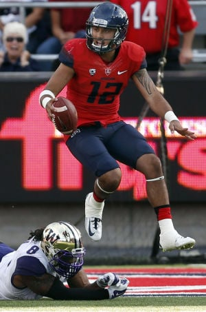 UA football: Solomon no fan of cold weather