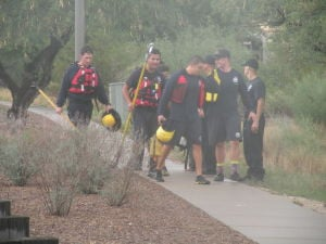 Oro Valley teen fished out of flooded wash