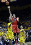 No. 1 Arizona at California, first half