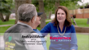 A rare District 1 ad airs in Tucson