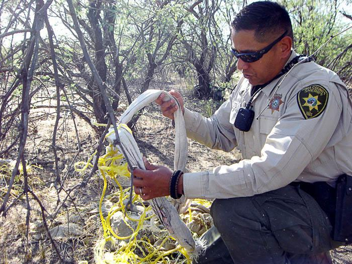 Deputies work fringes to stop drugs, illegals