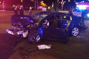 TPD Officer Involved With Road Rage Accident At Thornydale And Cortaro - PCSD