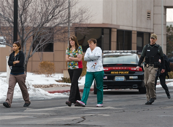 Hospital shooting