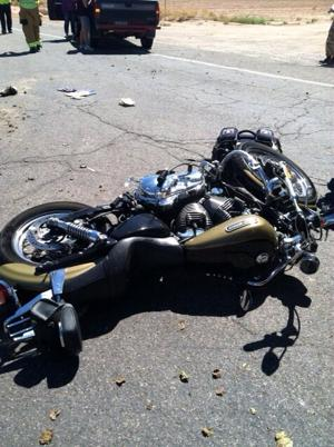 Northwest Fire responds to two motorcycle accidents