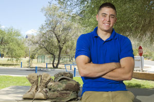 Ross Donaghay: CDO graduate, and soldier Ross Donaghay.