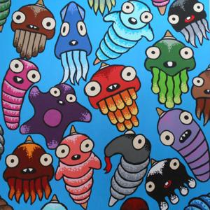 Local artist brings monsters to life