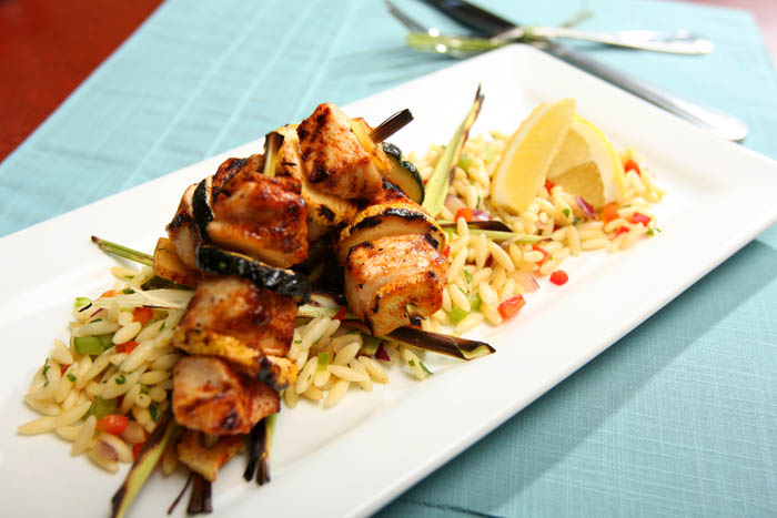 Lemon grass skewers