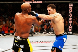 UFC 162: Silva Vs Weidman: Chris Weidman (right) took the title from Anderson Silva on Saturday. - Josh Hedges/Zuffa LLC/ Getty Images