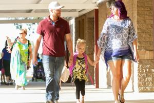 First day of school: Butterfield Elementary School