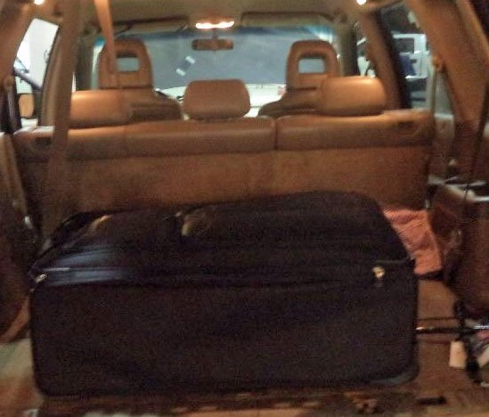 Thai woman found in suitcase at Nogales border