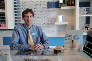 Oro Valley Eye Care: Dr. Robert Mitchell of Oro Valley Eye Care.  - Hannah McLeod/The Explorer