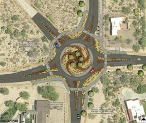 In OV, a roundabout about to come around