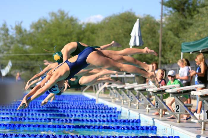 High School Swimming