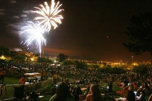 Fireworks - Randy Metcalf/The Explorer