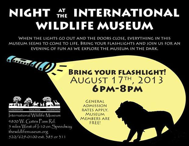 International Wildlife Museum - Night at the Museum