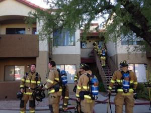 Northwest family displaced after apartment fire over weekend