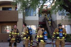 Northwest Family Displaced After Apartment Fire Over Weekend - Adam Goldberg/Northwest Fire