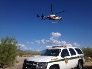 Two girls fall, airlifted from Seven Falls