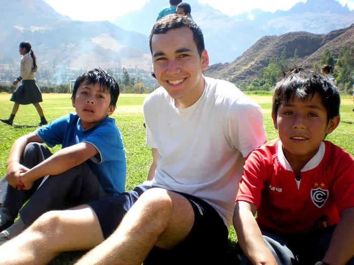 Harrison's trip to Peru