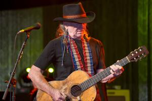 SCOTTSDALE, AZ - JANUARY 15: Country music legend Willie Nelson performs at the Childhelp Drive the
