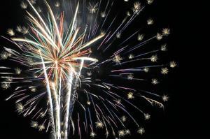4th fireworks over OV