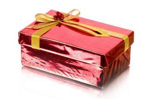 Shoebox gift