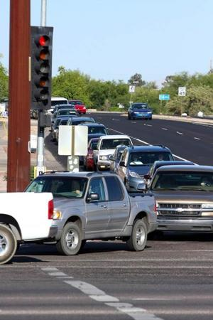 Oracle-Ina intersection may get 'Michigan left' turn lane