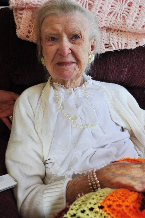 Local woman turns 105