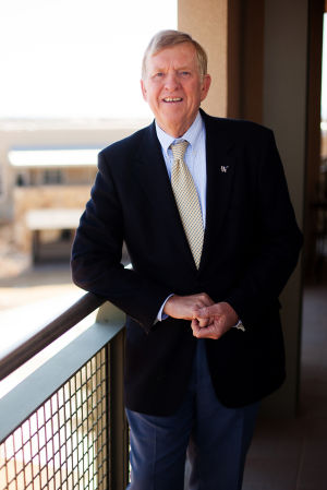Ed Honea Hiking: Town of Marana Mayor Ed Honea takes frequent walks around the town. - J.D. Fitzgerald/The Explorer