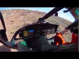 Bighorn Sheep Capture Aerials, Nov. 17, 2013