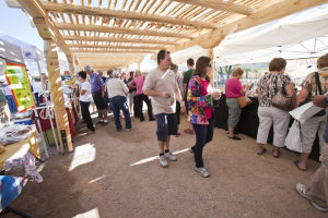 Farmers Market: The Oro Valley Farmers Market made its official move to its new location, Steam Pump Ranch, this past weekend. - Randy Metcalf/The Explorer