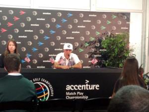 Accenture Update: Poulter eliminated by Fouler
