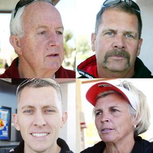 Rick davis, Alan Ruch, Robin Shipley and Jeremiah York