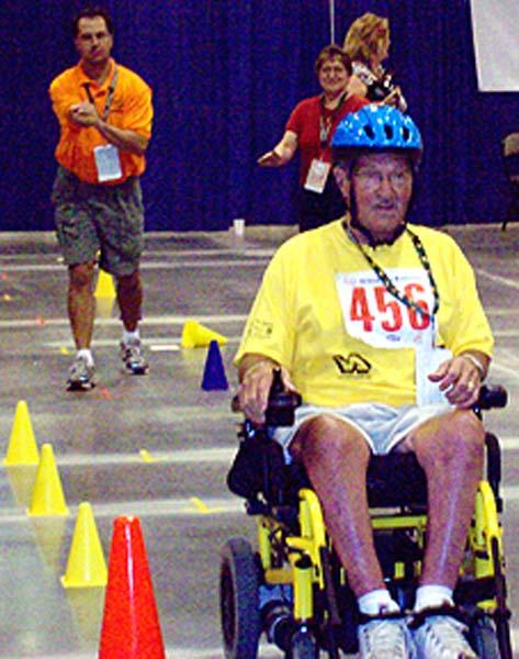 Heavy metal suits local chair athletes