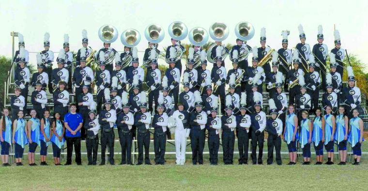 Nighthawk band marches at Holiday Bowl