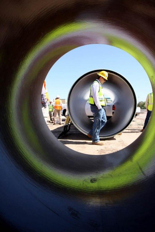 Stimulus funds to aid building of Ina/Roger sewer connection
